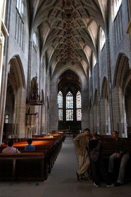 Plausch im (Berner) Münster