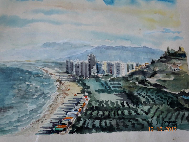 Playa de Cullera, 1969