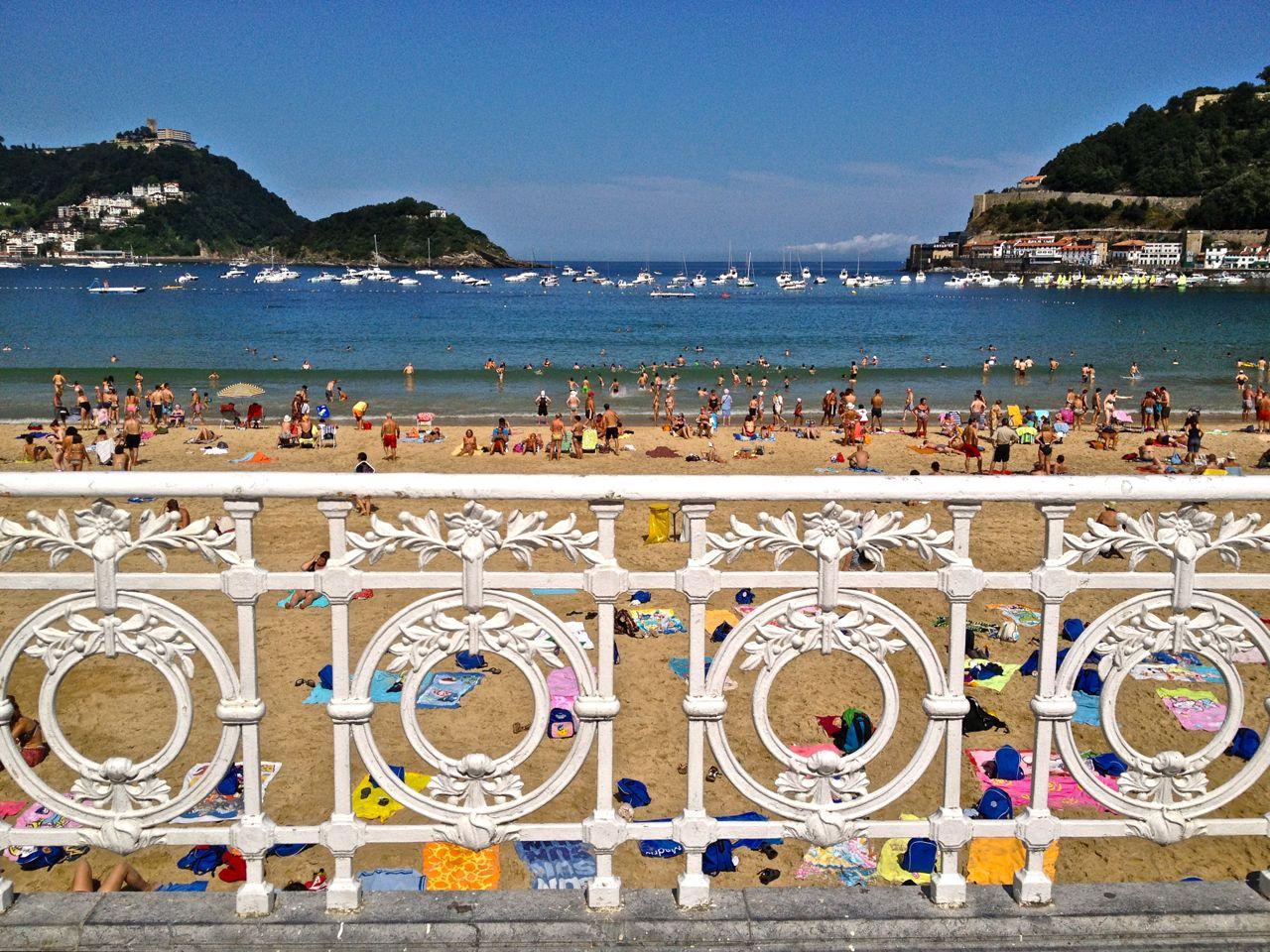 Playa de Donosti -San Sebastian