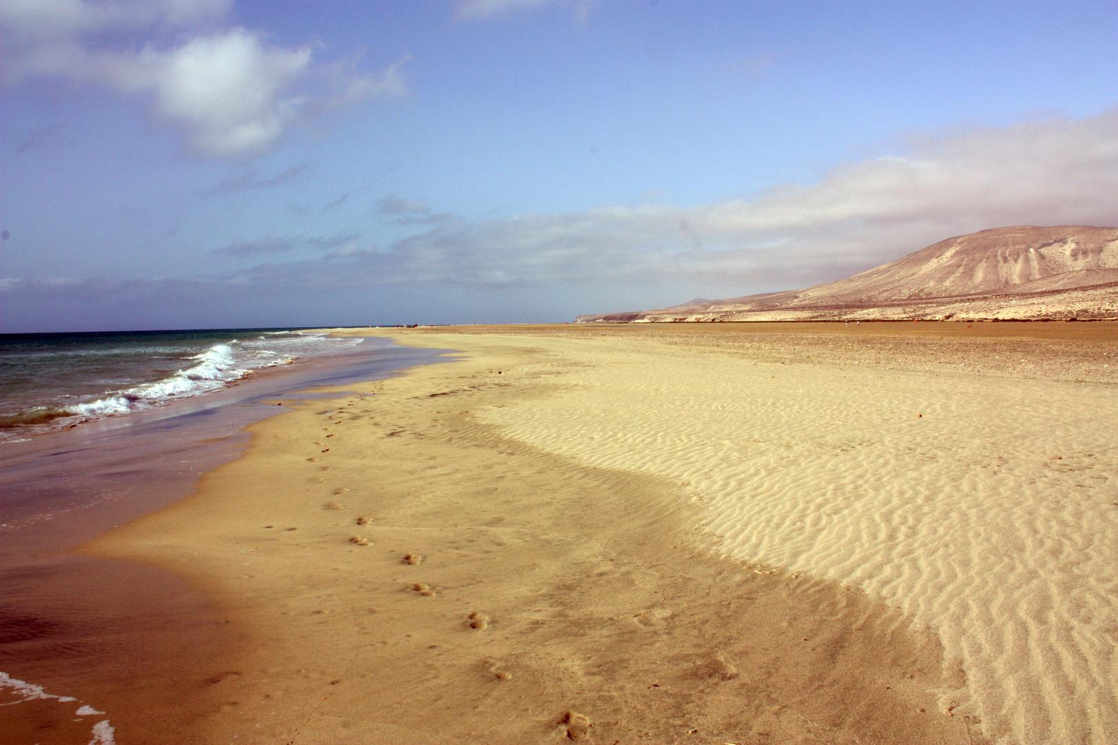 Playa de Jandía. Isla de Fuerteventura