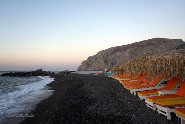 Playa de Kamari Santorini