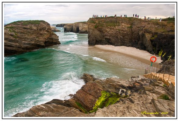 Playa de Las Catedrales-Lugo-Galicia.- 1