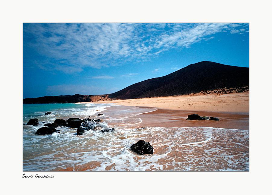 Playa de las Conchas - Graciosa - Lanzarote