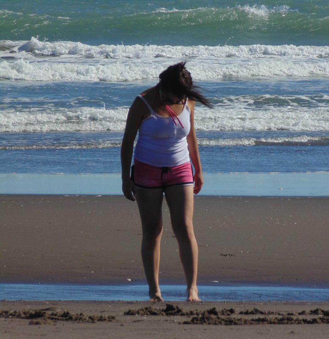 Playa de Monte Hermoso .