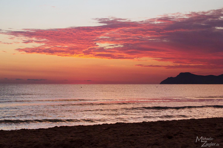Playa de Muro kurz vor Sonnenaufgang