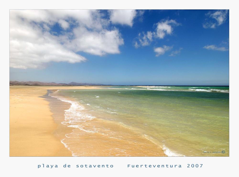 playa de sotavento II.2