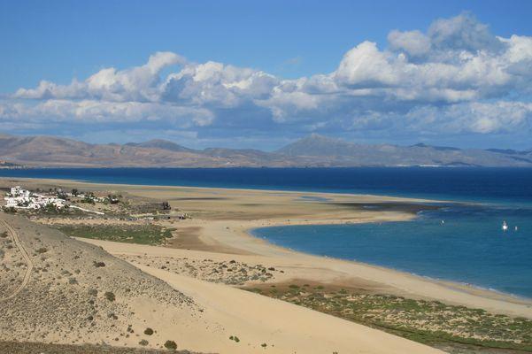 Playa de Sotavento, Risco del Paso