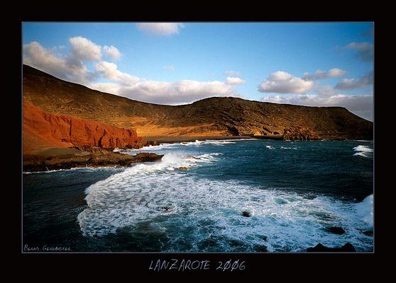 Playa el Golfo - Lanzarote