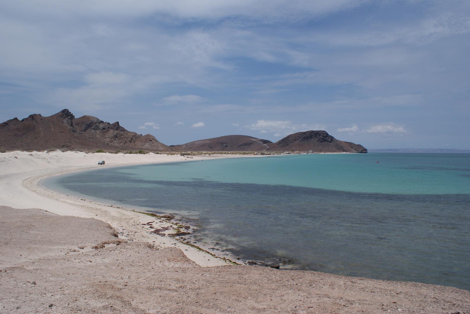 """Playa """"El tecolote"""", Baja California Sur, México."""