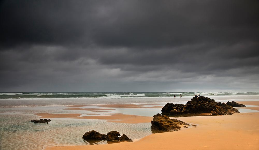 Playa en Julio