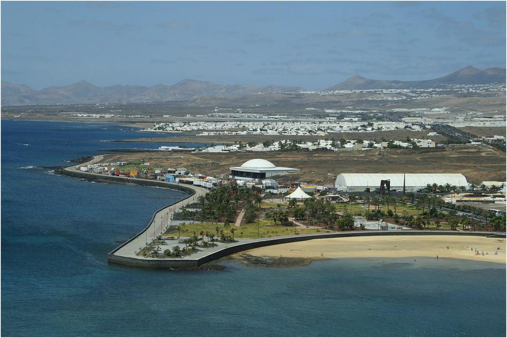 Playa Honda / Playa Del Reducto - Lanzarote ( vom Grand Hotel ) 1