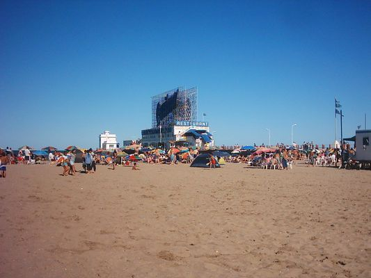 playa Punta Iglesia ( mar del Plata ) Argentina