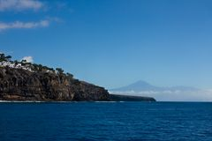 Playa Santiago mit Teide