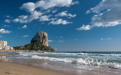 Playa y Ifach