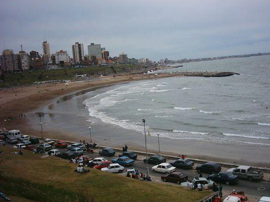 Playas de Mar del Plata (Republica Argentina )