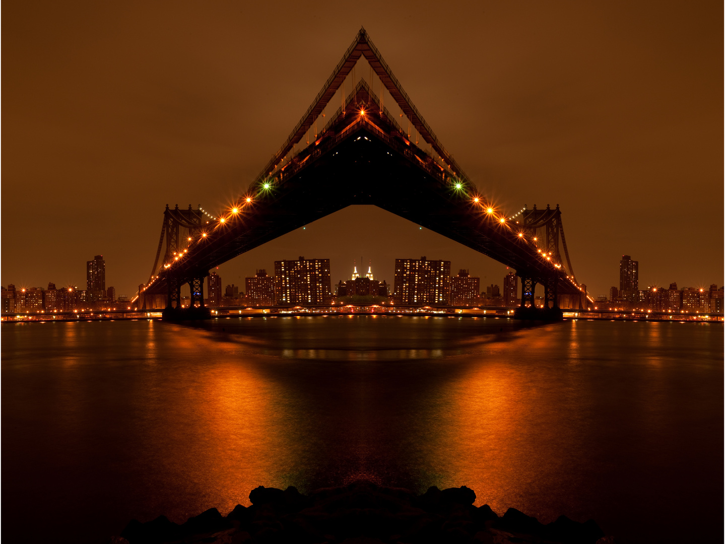 Played with the Manhattan Bridge