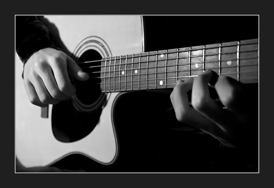 Playin' The Guitar