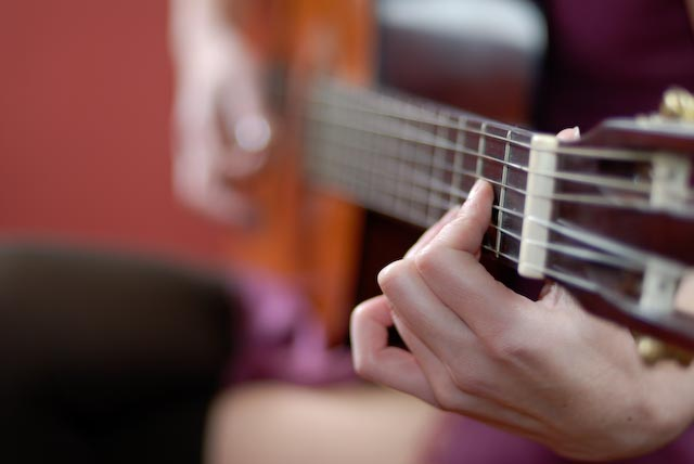 Playing Guitar 2