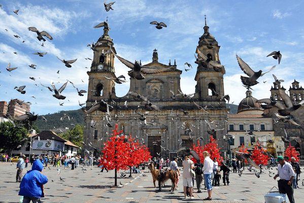 Plaza de Bolívar Columbia Bogota