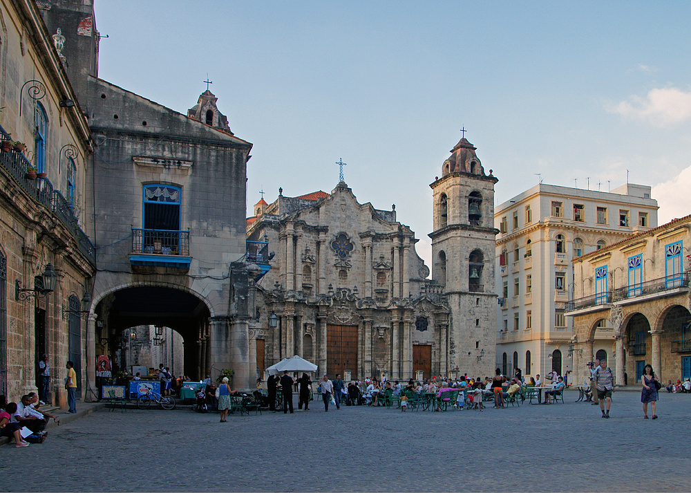 ..Plaza de la Catedral..