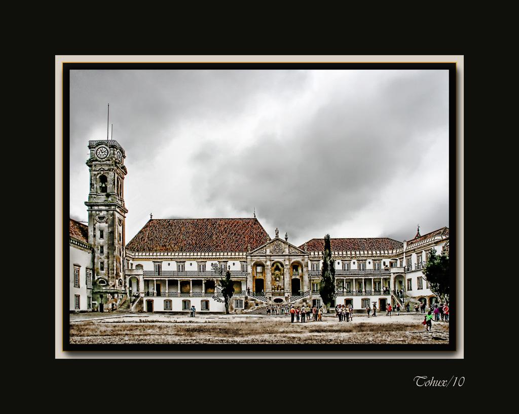 Plaza de la Universidad de Coimbra