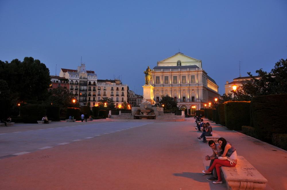 Plaza de Oriente (Felipe IV)