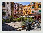 Plaza del mercado Capo de Palermo ( Sicilia Italia )