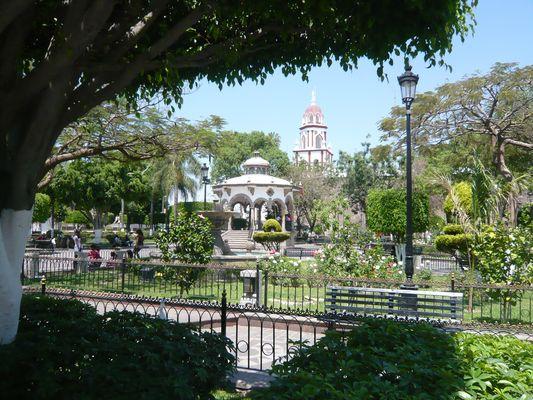 Plaza en Guadalajara. Mex.