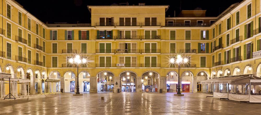 Plaza in Palma