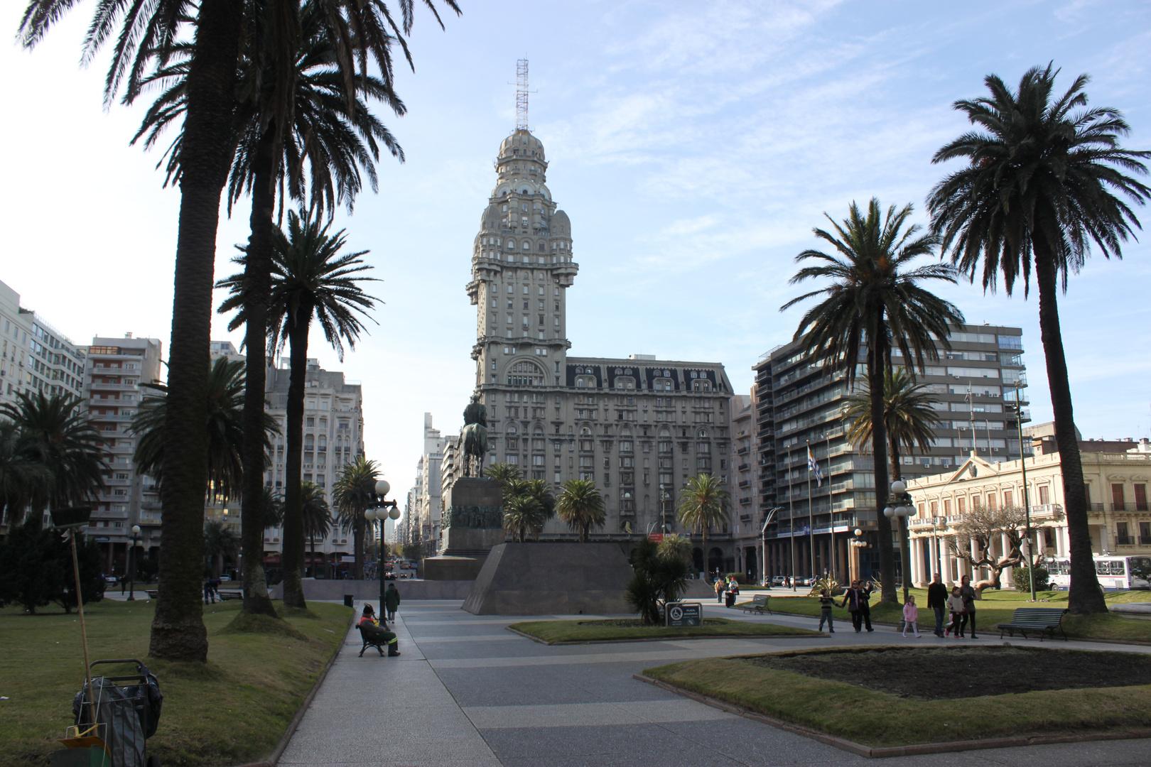 Plaza Independencia - Montevídeo - UR