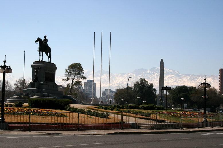 Plaza Italia - Santiago de Chile
