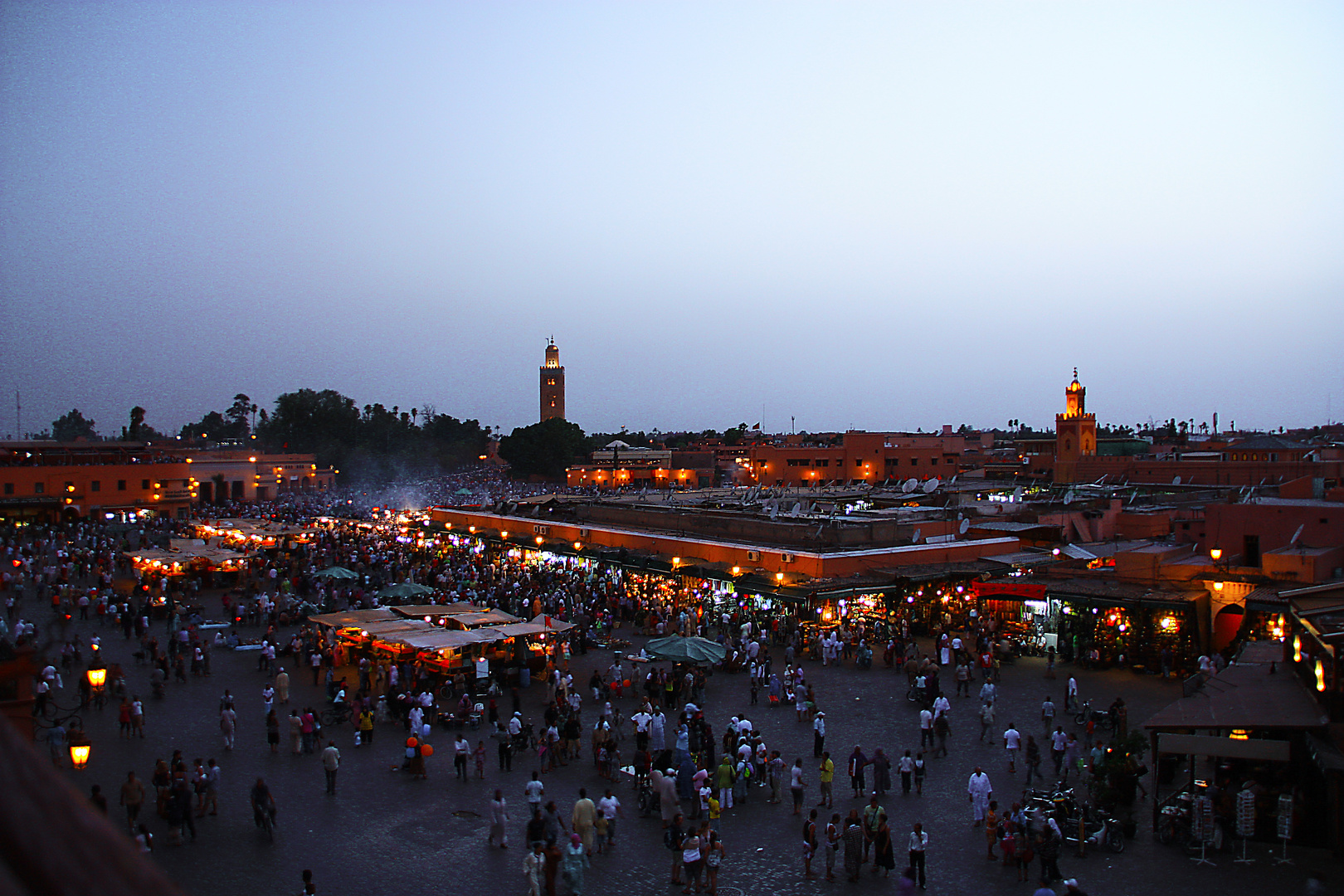 Plaza Jamaa Fna de Marrakech (Para Josune)