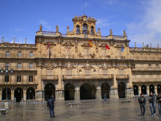 Plaza Mayor de Salamanca (Espana)