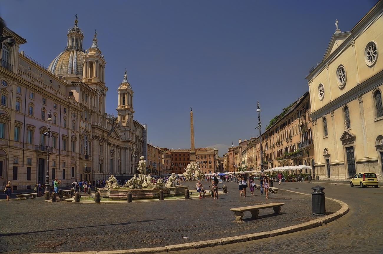Plaza Navona ( Roma)