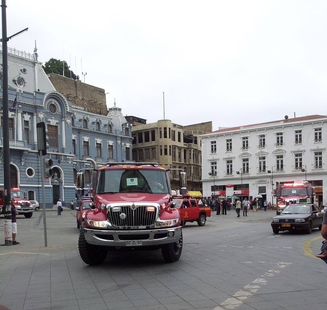 Plaza Sotomayor - Valparaíso