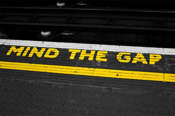 Please, mind the Gap.