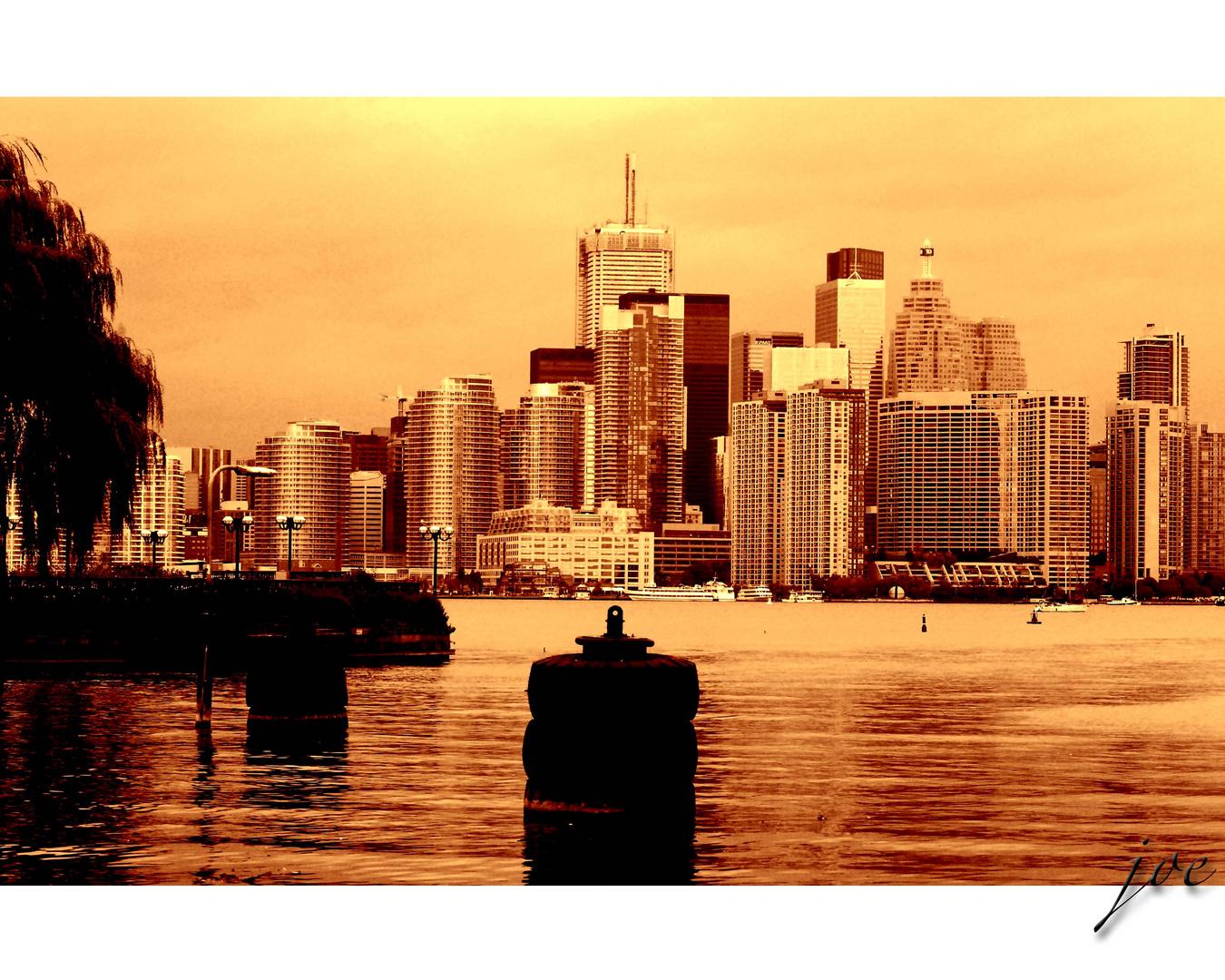 """please send me a postcard of Toronto"""