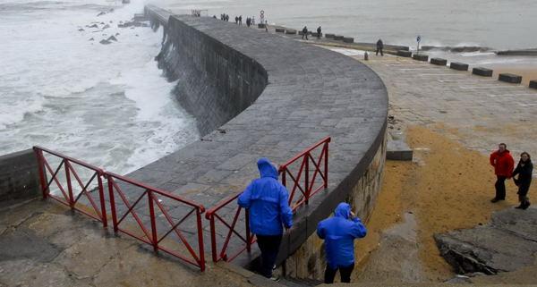 Plein vent sur l'océan....