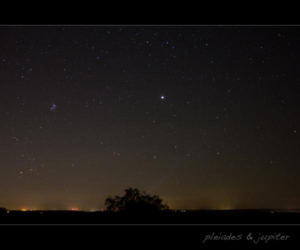 Plejaden & Jupiter