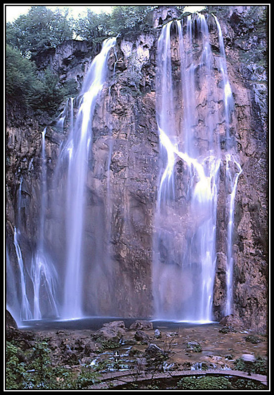 Plitwitze Wasserfall