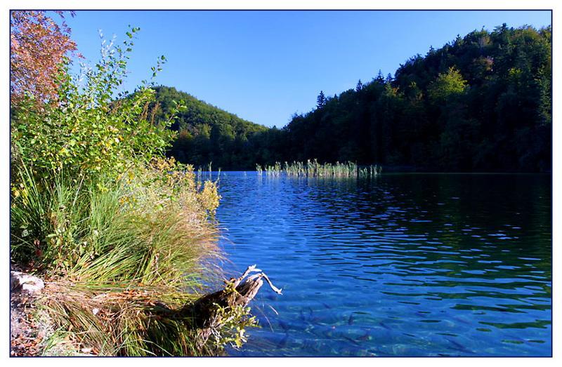 Plitwitzer Seen im Herbst
