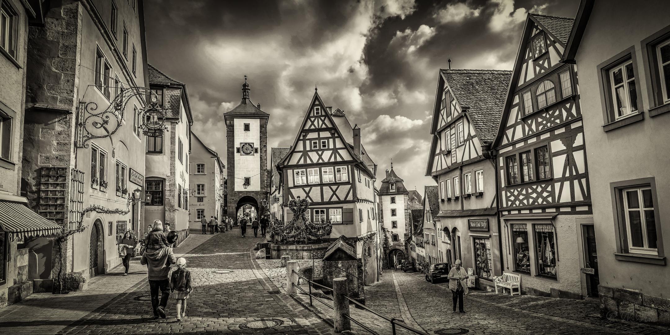 Plönlein, Rothenburg o.d.T.
