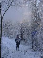 Plötzlicher Schneefall