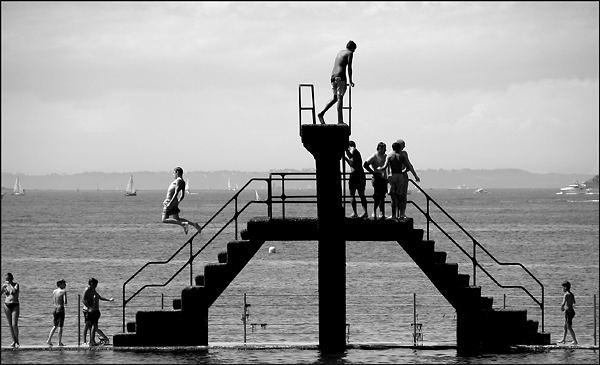 Plongeoir à Saint Malo