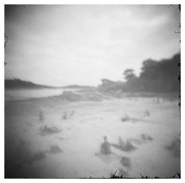 Ploumanac'h - plage de St Guirec - sténopé 2