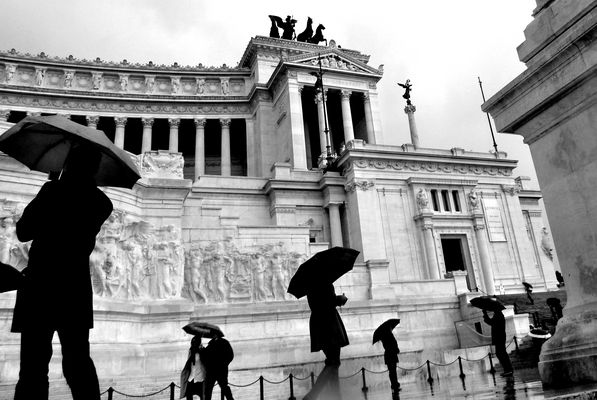 Pluie a Rome