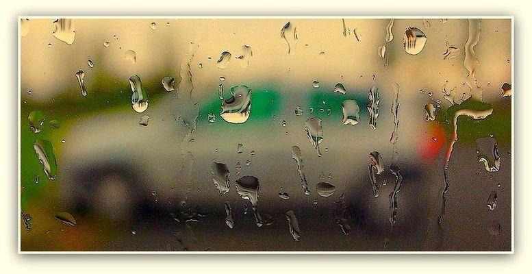 Pluie sur le parking 2