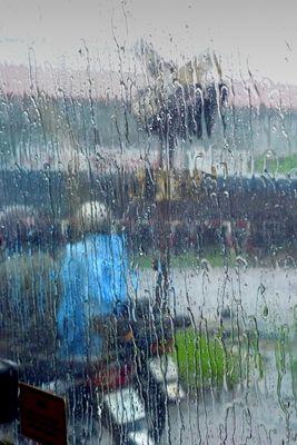 pluies de mousson au vietnam