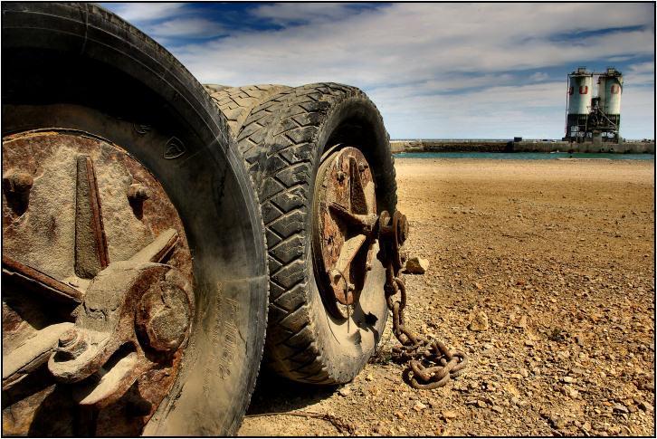 pneu sur mer