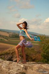 Pocahontas im Wind